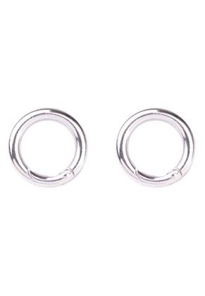 www.sayila-perlen.de - Metall EasyClip Ringe/Zwischenstück/Verschlüße 28mm