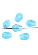 www.sayila.nl - Glaskralen kristal druppel 8x6mm (70 st.) - D21577