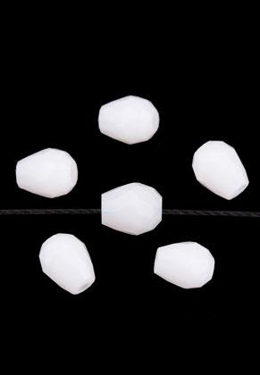 www.sayila.com - Glassbeads crystal drop 8x6mm (70 pcs.)