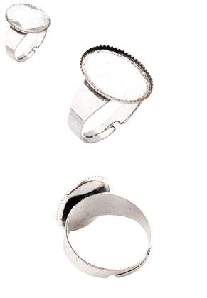 www.sayila.com - Metal rings >= Ø 19mm with setting for 18x13mm flatback