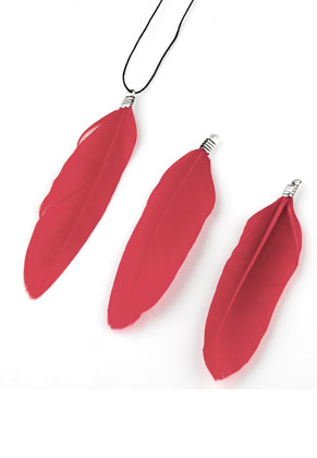www.sayila.com - Pendants feather 60-80x12-20mm