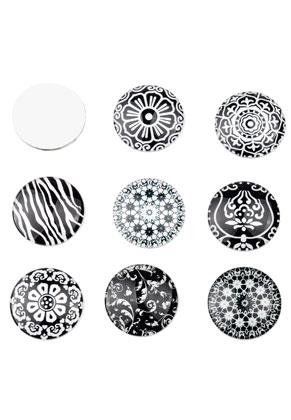 www.sayila.com - Mix glass flat backs/cabochons round 30mm