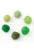 www.sayila.nl - Mix stoffen pompon balletjes 15mm
