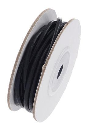 www.sayila.com - Leather cord 500cm, 3mm thick