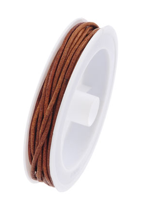 www.sayila.com - Leather cord 500cm, 2mm thick
