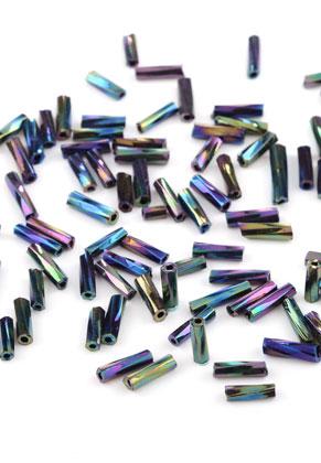 www.sayila.nl - Glas rocailles/borduurkralen bugle/buisje 7x2mm (650 st.)
