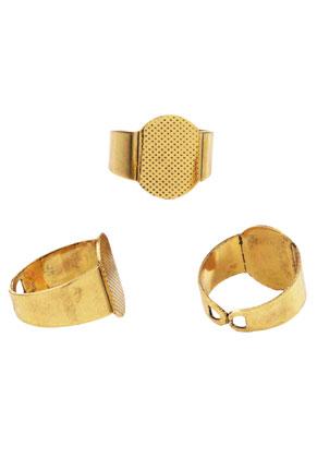 www.sayila.nl - Metalen ringen >= Ø 17,5mm met kastje voor 16mm en 16x12mm plaksteen