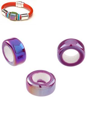www.sayila.be - Groot-gat-style keramiek kralen rondel 20x10mm
