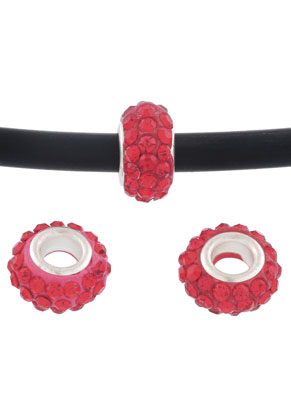 www.sayila.com - Large-hole-style strass spacer beads 13x7mm