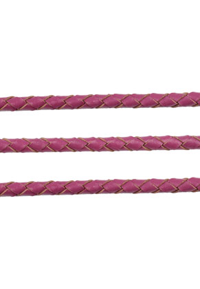www.sayila.com - Leather cord woven 100cm, 4mm thick