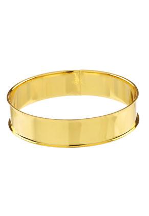 www.sayila-perlen.de - Metall Armreif/Armband blank 21,5cm, 15,5mm breit