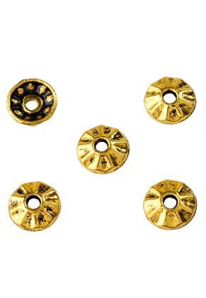 www.sayila.nl - Metalen kapjes 8mm