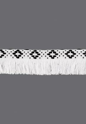www.sayila.es - Cinta Bohemian de textil con flecos 100cm, 35mm de ancho