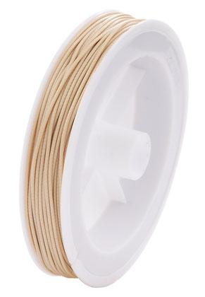 www.sayila-perlen.de - Wachsschnur 1,5mm (20 Meter pro Rolle)