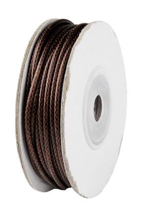 www.sayila.com - Wax cord 2mm (10 meter per roll)