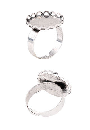 www.sayila.nl - Metalen ringen >= Ø 18mm met kastje voor 25mm plaksteen