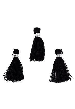 www.sayila.com - Textile mini tassels 22x10mm