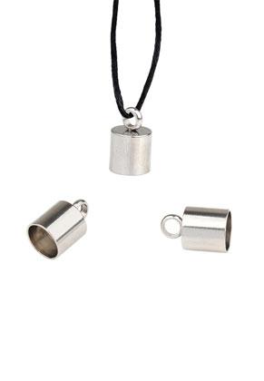 www.sayila.com - Stainless steel caps with eye 11x7mm