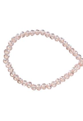 www.sayila.fr - Perles en verre cristal rondelle avec facettes 4x3mm (± 135 pcs.)