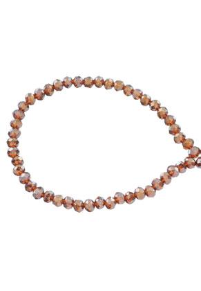 www.sayila-perlen.de - Glasperlen Kristall Rondelle facette geschliffen 4x3mm (± 135 St.)