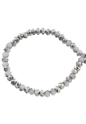 www.sayila.com - Glass beads roundel faceted 6x5mm (90 pcs.)