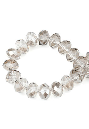 www.sayila.com - Glass beads roundel faceted 12x9mm