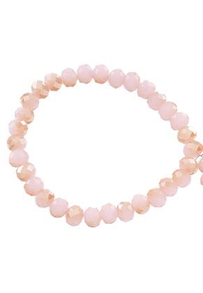 www.sayila-perlen.de - Glasperlen Rondelle facette geschliffen 8x6mm (± 60 St.)