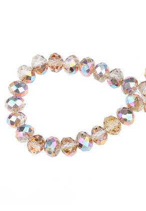 www.sayila.com - Glass beads roundel faceted 8x6mm (± 60 pcs.)