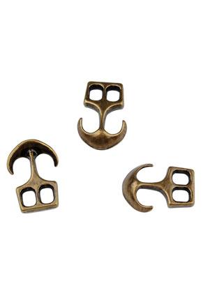 www.sayila.nl - Metalen tussenzetsels/sluitingen anker 20x14mm