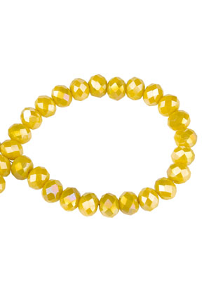 www.sayila.com - Glass crystal rondelle beads faceted 6x5mm (90 pcs.)