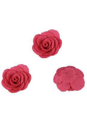 www.sayila.be - Stoffen bloemen 25mm