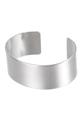 www.sayila.com - Brass cuff bracelet blank 18cm, 2,5cm wide