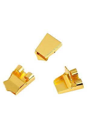 www.sayila.com - Brass bolo tie slide clasp 25x18mm
