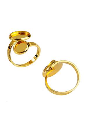 www.sayila.nl - Brass ringen >= Ø 16,5mm met kastjes voor 8mm en 12mm plakstenen