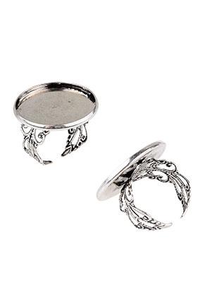 www.sayila.nl - Metalen ringen >= Ø 17,5mm met kastje voor 25mm plaksteen