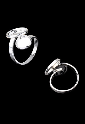 www.sayila.com - Brass rings >= Ø 16,5mm with settings for 8mm and 12mm flat backs