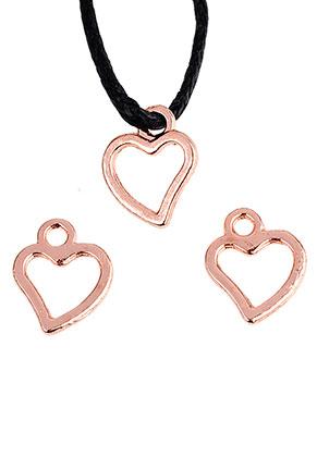 www.sayila.com - Metal pendants/charms heart 10x8mm