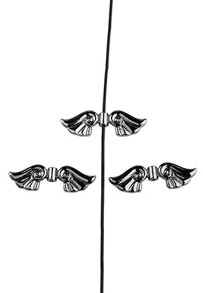 www.sayila.com - Metal beads wings 45x14mm