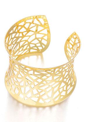 www.sayila.nl - Metalen cuff armband 17cm ^