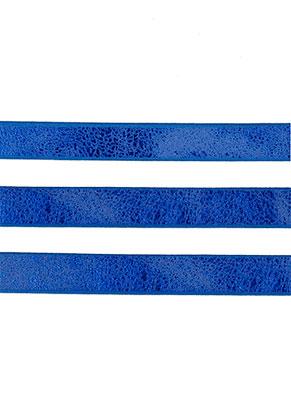 www.sayila.es - Cinta de cuero artificial con brillo metálico 10mm, 2mm de espesor