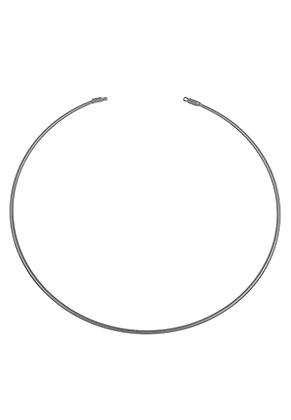 www.sayila.es - Pieza de metal para hacer un collar rígido 35cm, 2mm de espesor