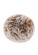www.sayila.com - Fluff ball with elastic loop 90mm - D23586