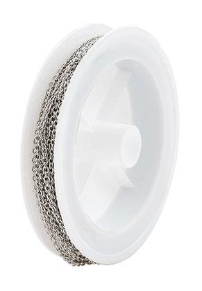 www.sayila.nl - Metalen ketting met 2,5x2mm schakels (5 meter per rol)