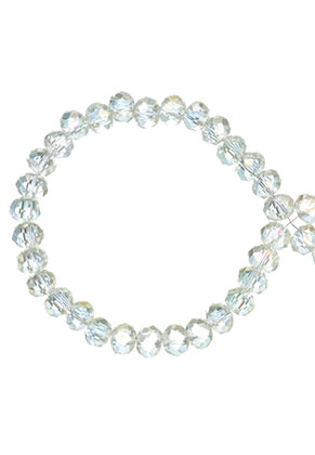 www.sayila.com - Glass crystal rondelle beads faceted 4x3mm (± 135 pcs.)