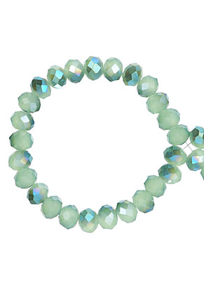 www.sayila.com - Glass crystal rondelle beads faceted 6x5mm (± 90 pcs.)