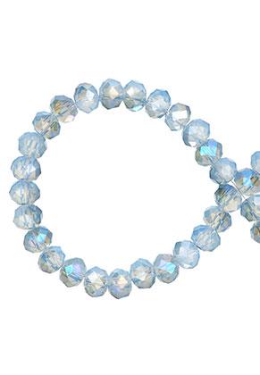 www.sayila.nl - Glaskralen kristal rondel facet geslepen 6x5mm (± 90 st.)