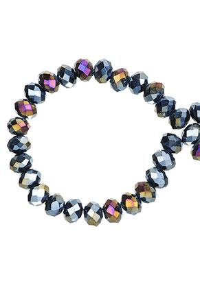 www.sayila-perlen.de - Glasperlen Rondelle facette geschliffen 6x5mm (± 90 St.)