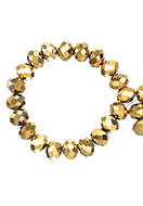 www.sayila.com - Glass beads roundel faceted 8x6mm (± 60 pcs.) - D23924