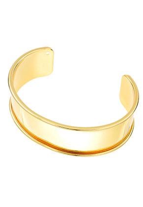 www.sayila.nl - Brass cuff armband blank 20cm, 2,5cm breed