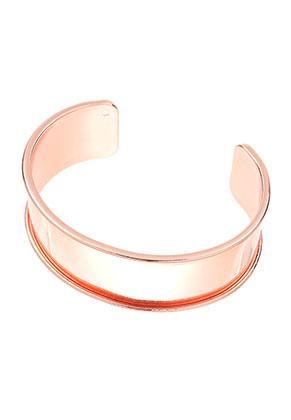www.sayila.com - Brass cuff bracelet blank 20cm, 2,5cm wide